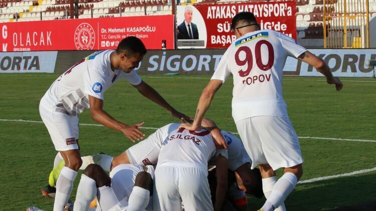 Hatayspor 1-0 Kasımpaşa (Maçın özeti)