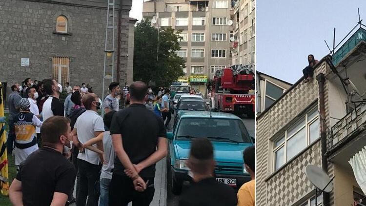 Son dakika haberler: Kayseri'de hareketli anlar: Film gibi izlediler