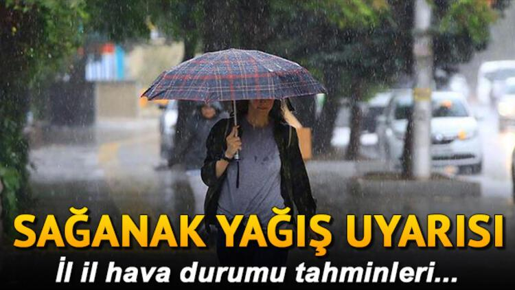 Hava durumu tahminleri 27 Eylül 2020 Pazar günü hava nasıl olacak İstanbul için yağmur uyarısı