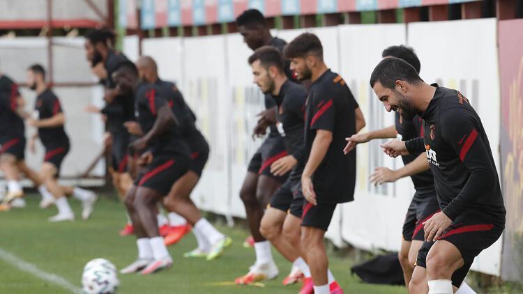 Galatasaray derbi maça hazır
