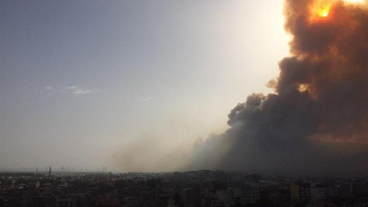 Son dakika haberi: Aydın Sökedeki orman yangını söndürüldü mü Söke yangınında son durum