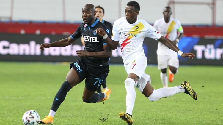 Trabzonsporun sahasındaki galibiyet hasreti sona erdi