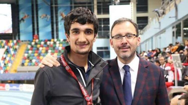 Atletizmin altın çocuğu Mahsum Değer, gözünü dünya şampiyonluğuna dikti