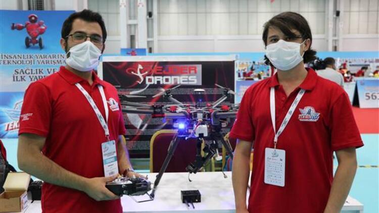 Mayın avcısı drone yaptılar