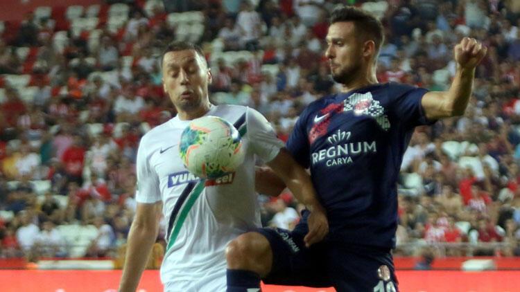 Antalyaspor ile Denizlispor 27. randevuda