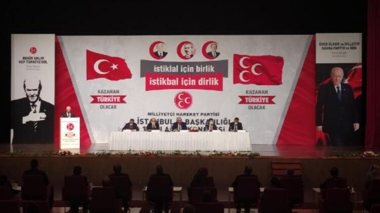 Son dakika... MHP İstanbul 13. İl Kongresi başladı