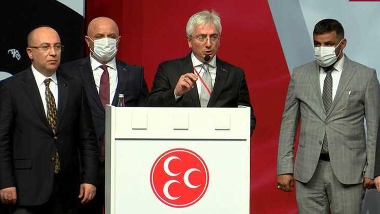 Son dakika haberi: MHP İstanbul İl Başkanlığı'na Birol Gür yeniden seçildi
