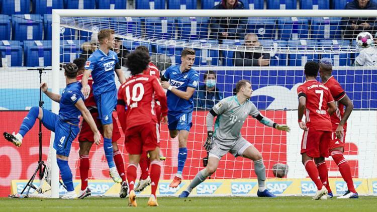 Son dakika haberi | Hoffenheim, Bayern Münih'i dağıttı! Tam 23 maç sonra...