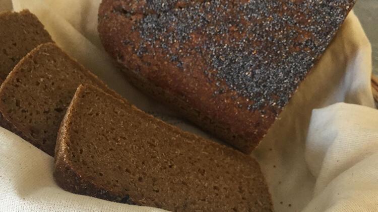 Glutensiz Ekşi Mayalı Karabuğday Ekmeği