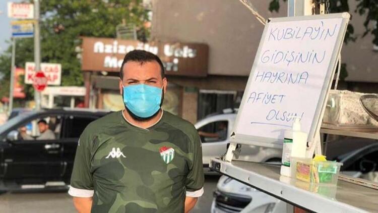 Kubilay Kanatsızkuş, Bursaspordan ayrılınca lokma döktürdü