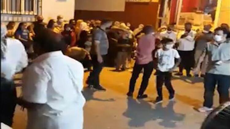 Diyarbakır'da yasağa rağmen halaylı sokak düğünü
