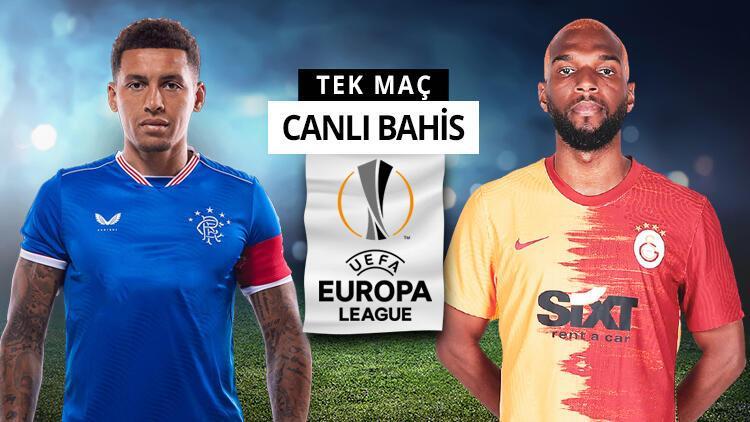 """""""Rangers - Galatasaray"""" maçının iddaa oranları açıklandı! Avrupa Ligi'nde turun favorisi..."""