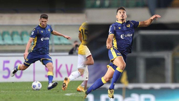 Hellas Veronada Mert Çetin ve Koray Günter rüzgarı