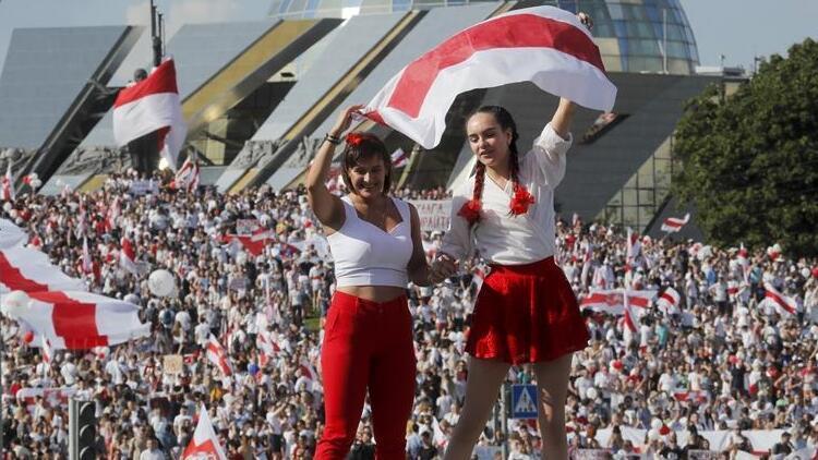 Belaruslu muhalif, iktidar değişikliği için Macrondan yardım istiyor