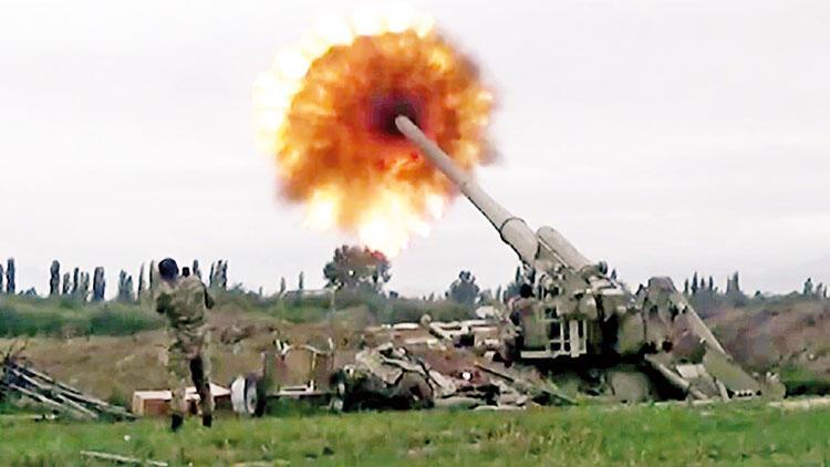 400 hedef vuruldu, 20 zırhlı imha edildi