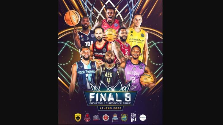 FIBA Şampiyonlar Liginde 8li final yarın Yunanistanda başlıyor