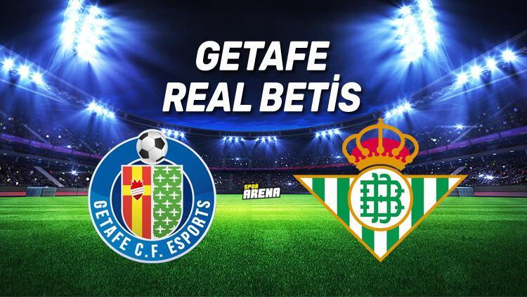Getafe Real Betis maçı saat kaçta, hangi kanalda?