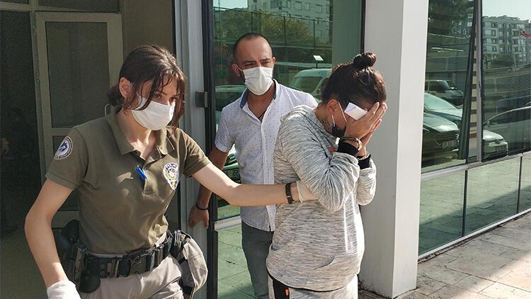Hamile kadın gasptan tutuklandı