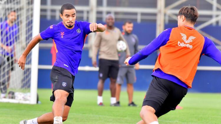 Medipol Başakşehirde Göztepe maçı hazırlıkları