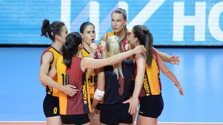 Galatasaray HDI Sigorta deplasmanda kazandı