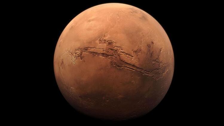 Mars'ın güney kutbunda göletler mi var?