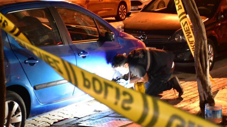 İzmirde taksicilerin müşteri kavgası
