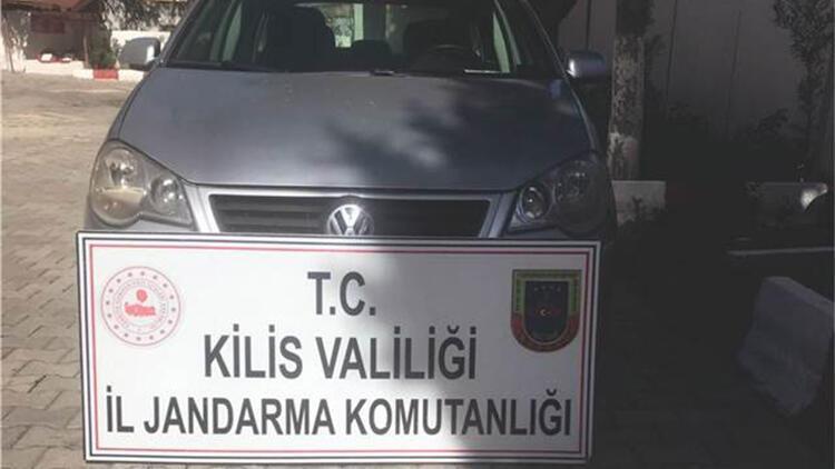 Osmaniye'den çalınan otomobil, Kiliste bulundu