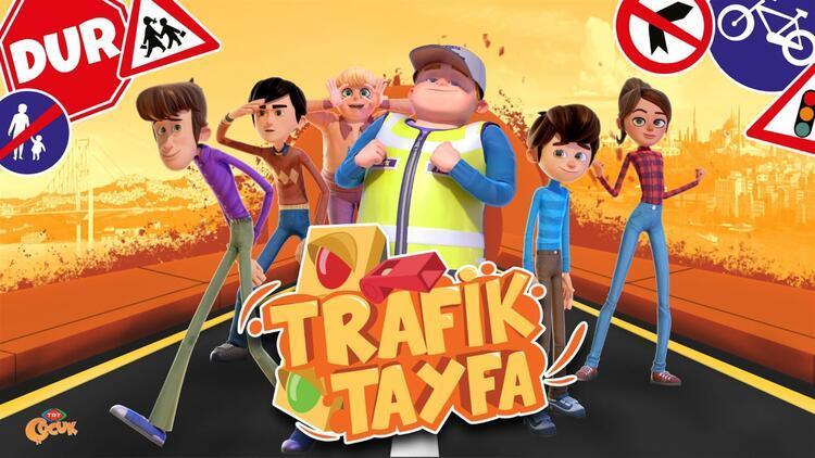 Trafik kurallarını 'Trafik Tayfa' öğretecek