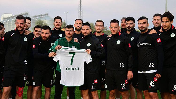 Son Dakika | Konyaspor'dan top toplayıcı çocuğa ödül!