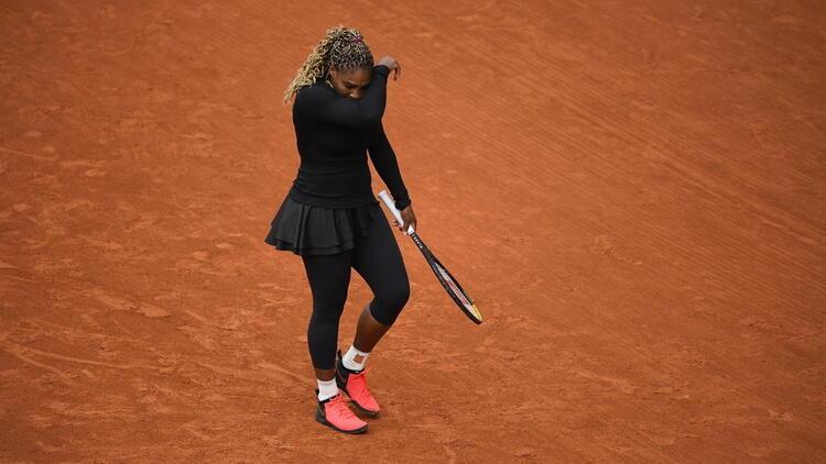 Serena Williams, Fransa Açıktan çekildi
