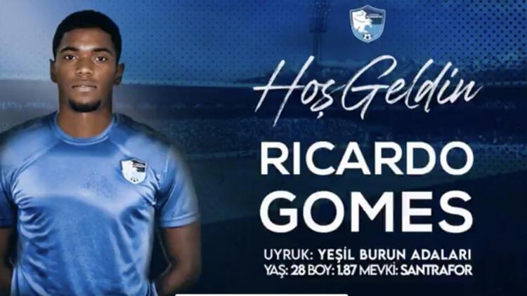 Erzurumspor, forvet Ricardo Gomesi kiralık olarak kadrosuna kattı