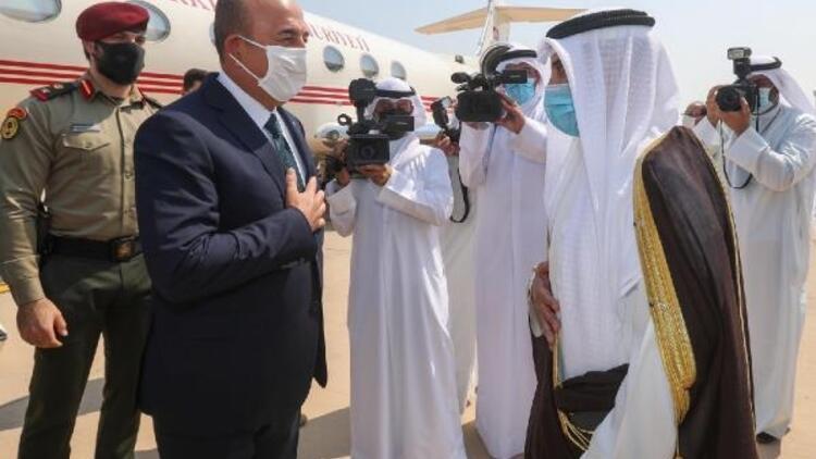 Dışişleri Bakanı Çavuşoğlu Kuveyt'te