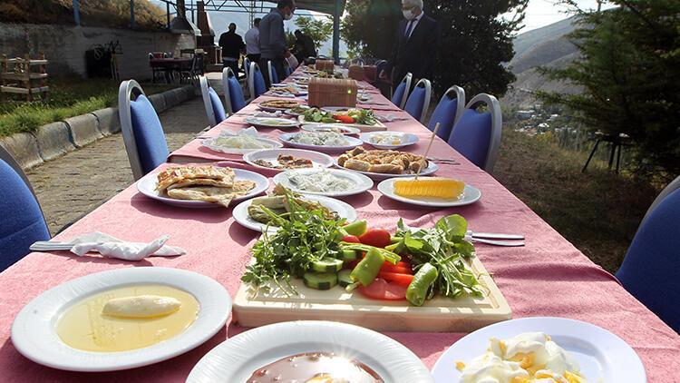 Erzurum'un Olur ilçesi damaklarda tat bırakan yöresel lezzetleriyle tanıtım atağında