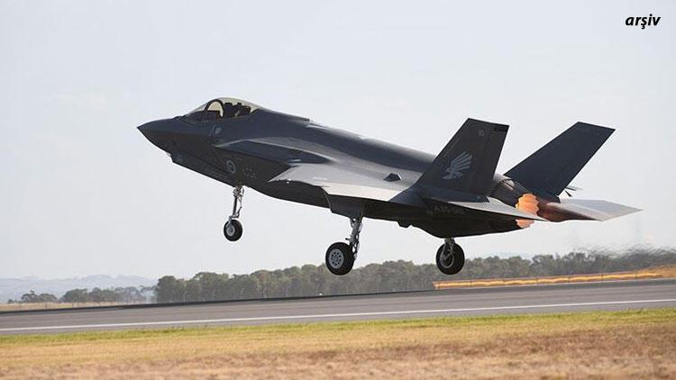Son dakika haberler... ABD'de F-35 uçağı düştü