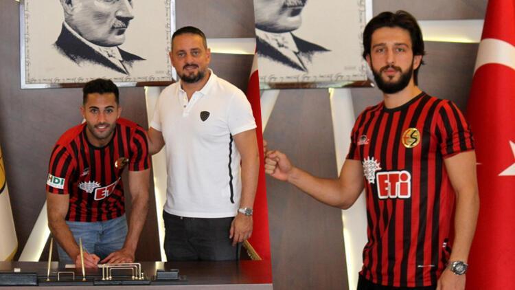 Eskişehirspor, Mevlüt Çelik ve Kaan Gül'le sözleşme yeniledi