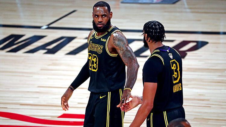 Miamiyi yenen Lakers seriyi 2-0 yaptı | NBAde gecenin sonuçları