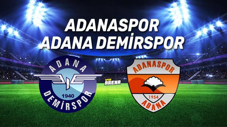 Adanaspor Adana Demirspor maçı ne zaman, saat kaçta hangi kanalda