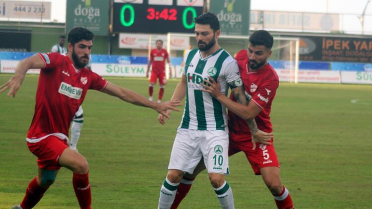 Maç sonucu   Giresunspor 2-1 Beypiliç Boluspor