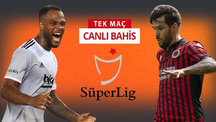 Beşiktaş'ta hedef mutlak 3 puan! Gençlerbirliği önünde galibiyetlerine iddaa'da...