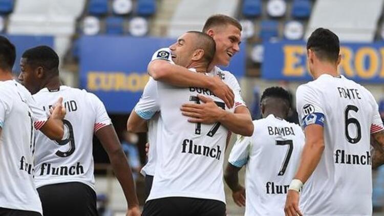 Strasbourg 0-3 Lille (Burak Yılmaz ve Zeki Çelik gol attı)