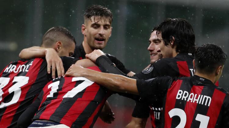 Milan, Spezia'yı ikinci yarıda bulduğu gollerle yendi
