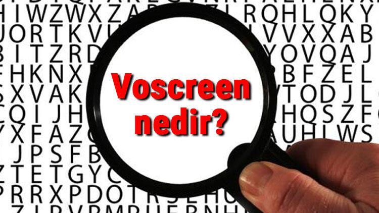 Voscreen nedir? Voscreen nasıl kullanılır ve ücretli midir?