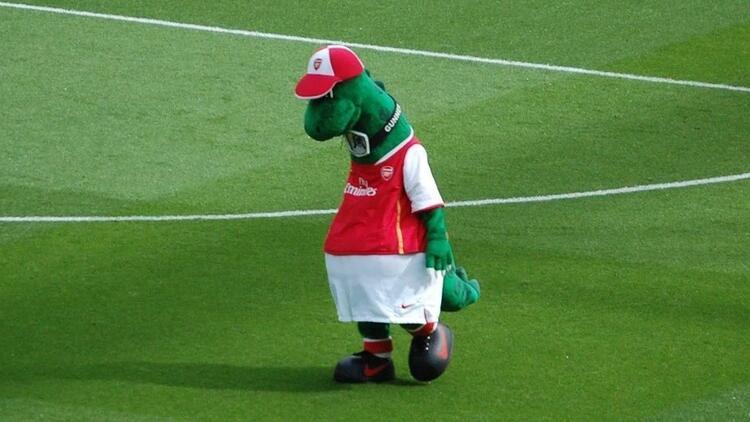 Arsenal, maskotunu işten çıkardı! Yılda 30 bin sterlin kazanıyordu...