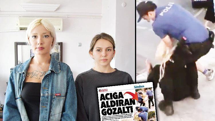 Maske gözaltısında kızlara dava, polise takipsizlik