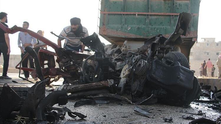 Son dakika: Suriye'de bombalı saldırı!