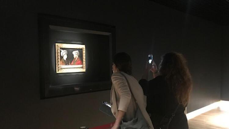 Fatih Sultan Mehmetin tablosu ziyarete açıldı