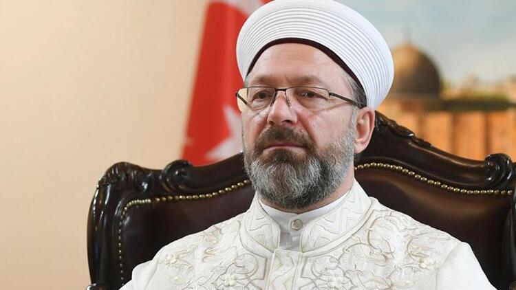 """Son dakika haberler: Diyanet İşleri Başkanı Erbaş """"Camiler ve Din Görevlileri Haftası Programı""""nda konuştu"""