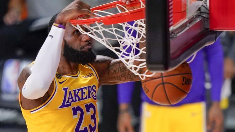 NBA'de Gecenin Sonuçları | Lakers, Heat'i 102-96 devirdi! Seride 3-1 öne geçti...