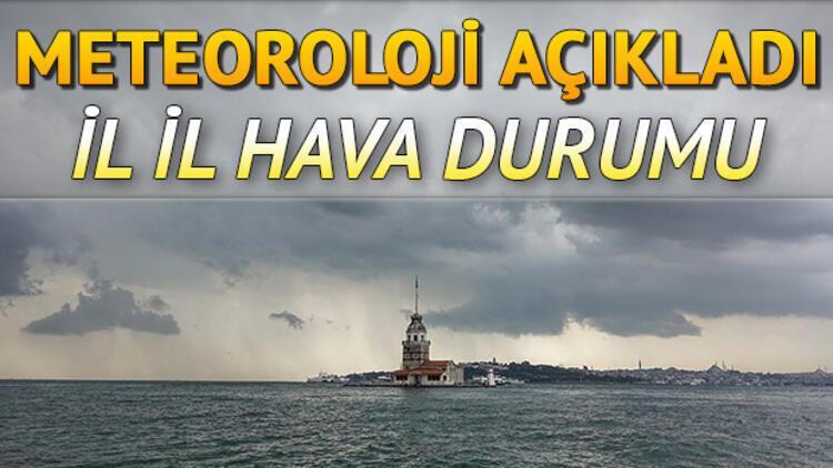 Hava bugün nasıl olacak? 8 Ekim Perşembe Meteoroloji İstanbul, Ankara, İzmir il il hava durumu tahminleri