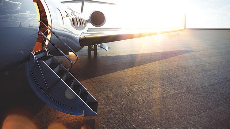 Özel uçaklara pandemi ilgisi